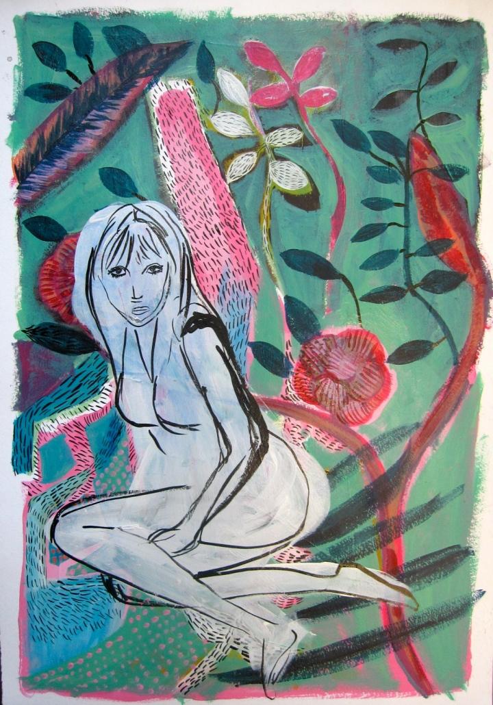 Dyana Gray, Marianne Faithful, australian, neo expressionism